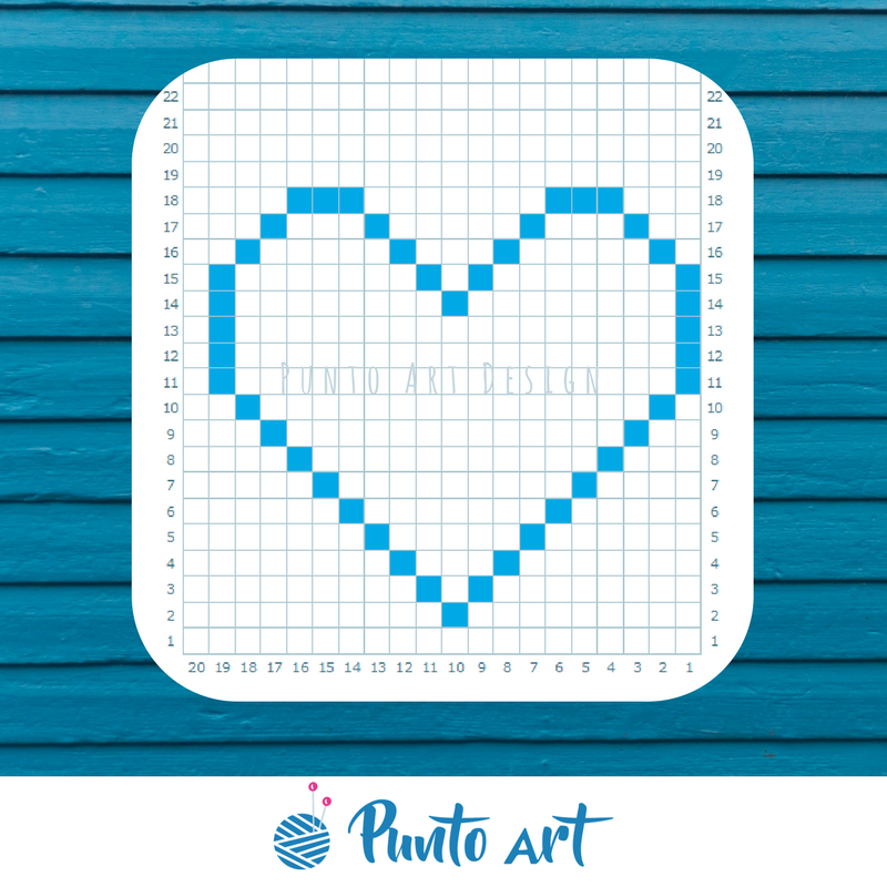 C2C Pattern Design Graph Paper Printable Grid paper for knitting ...