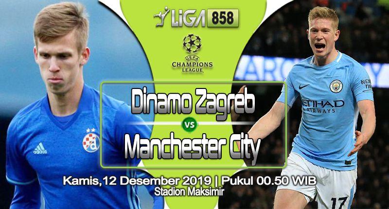 Prediksi Dinamo Zagreb Vs Manchester City 12 Desember 2019 12 Desember