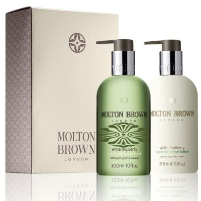 Refined White Mulberry Hand Wash Lotion Set Hand Lotion Hand