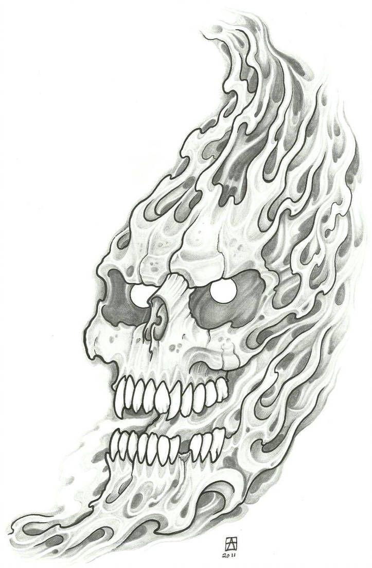 Photo of Flaming Demon Tattoo 2011 von vikingtattoo auf DeviantArt
