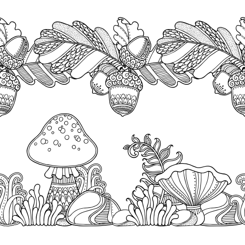 FREE giveaways with this page!! You can\'t miss this forest coloring ...