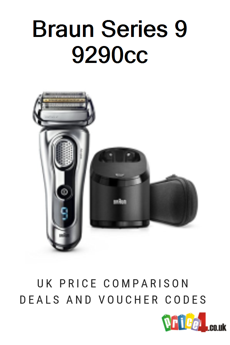 Braun Series 9 9290cc Uk Prices Braun Series 9 9290cc Men S Electric Foil Shaver Wet And Dry With Clean And Renew Charge S Braun Series 9 Braun Foil Shaver