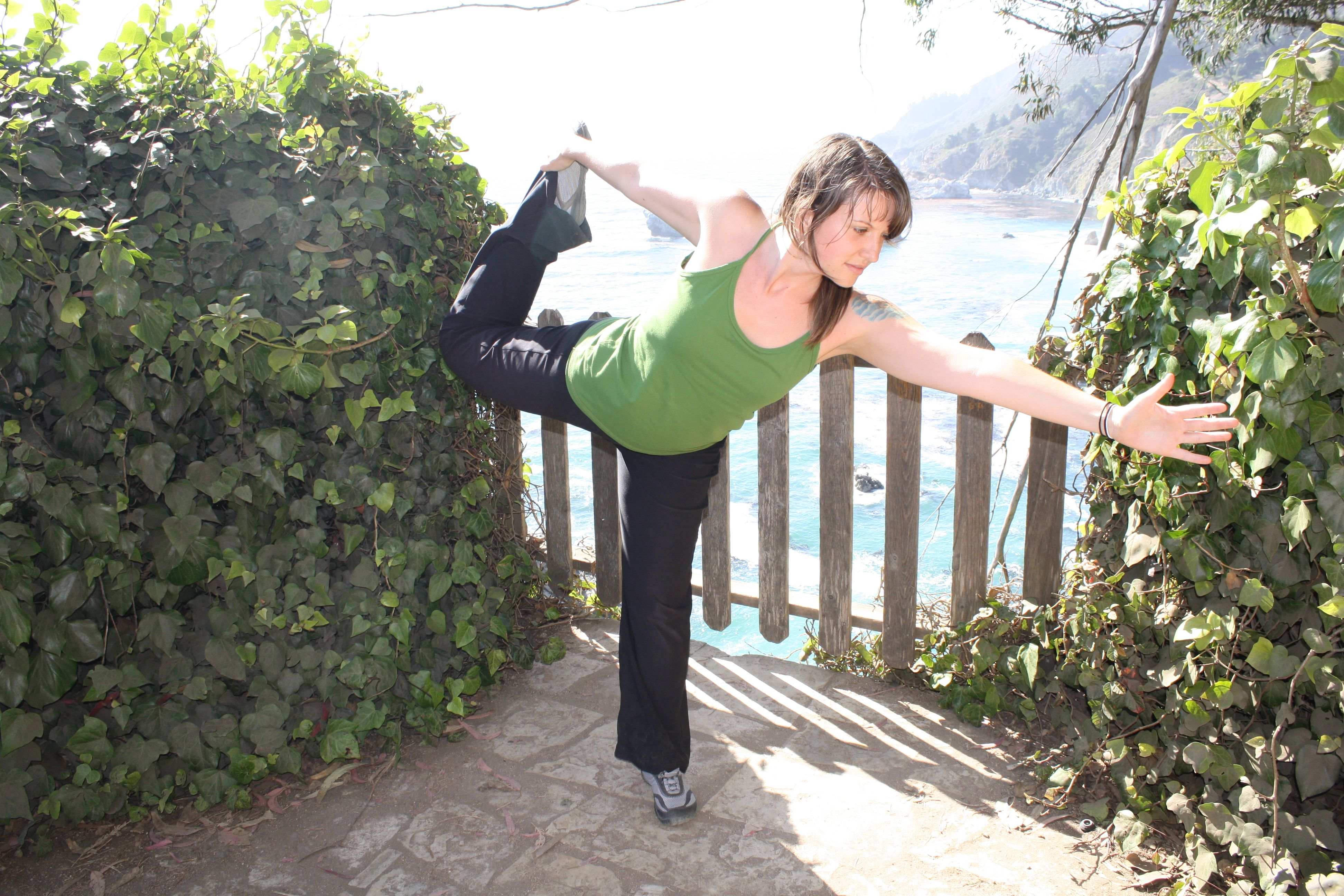 What is yoga Why should I do it And hereus some yoga in Big Sur