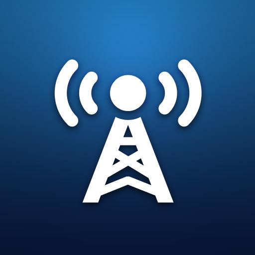 online radio stations #logo #icon #design #favorites #app
