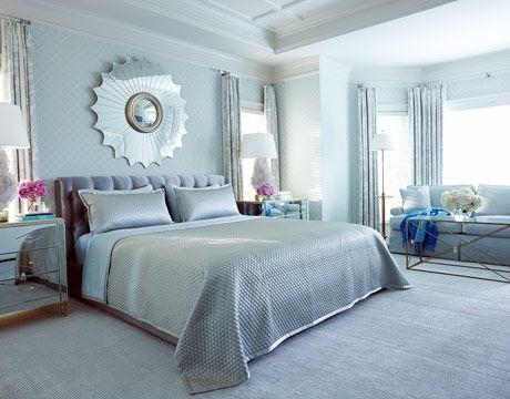 Glamorous Blue Decorating Bedroom Colors Silver Bedroom Bedroom Color Schemes