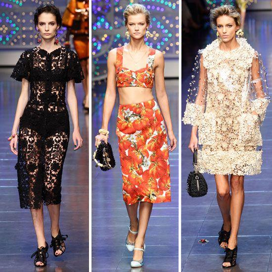 Dolce and Gabbana Spring 2012 | dolce gabbana spring 2012