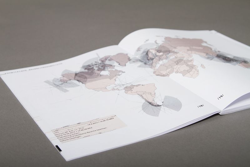 Spread in 'V.I.K.I.' by Regina Huber, Philipp Feigenbutz & Leo Dziallas