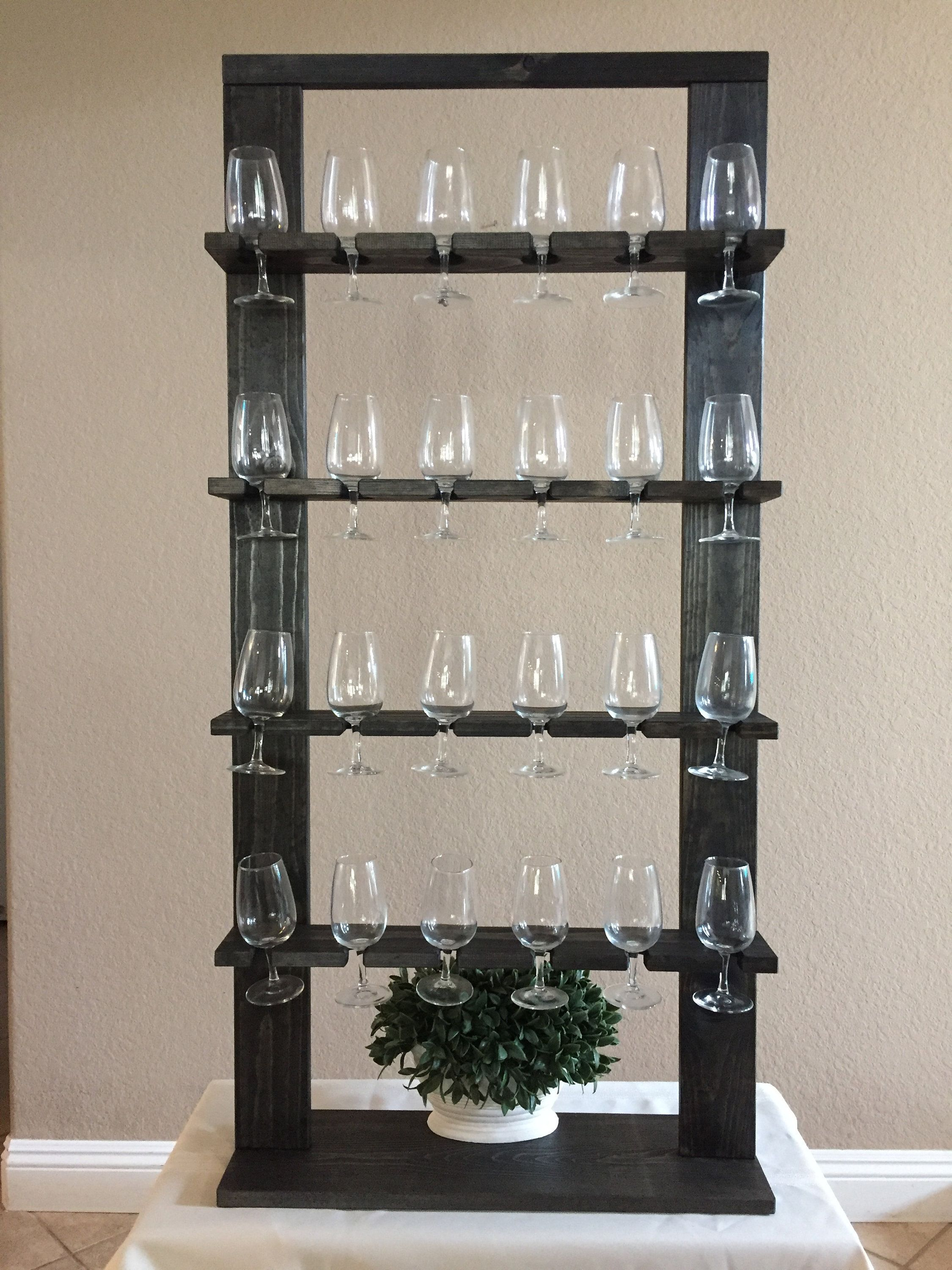 Champagne Wall Prosecco Wall Wine Glass Stand Holder Etsy Wine Glass Display Wine Wall Stemware