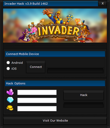 Invader Hack v3.9 Download