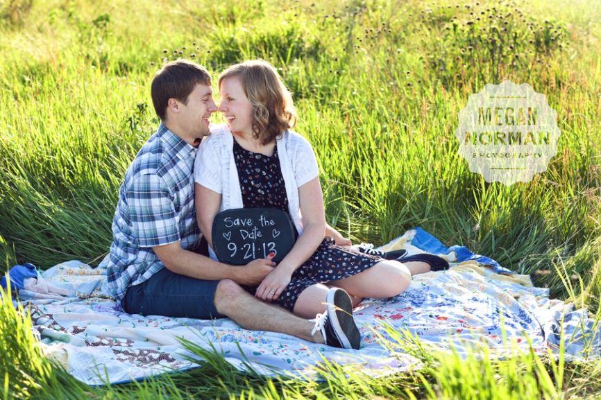 Joli + Colin: A Sunny Picnic » Megan Norman Photography - Save the Dates