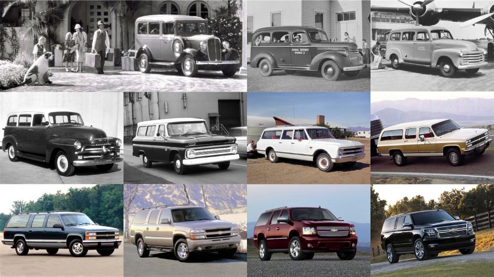 Chevrolet Suburban, world's oldest nameplate, marks its
