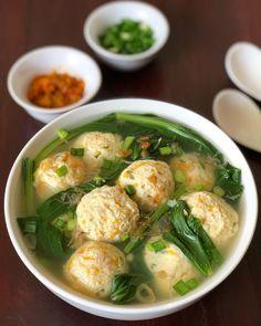 Cara Memasak Sop Bakso : memasak, bakso, Resep, Membuat, Bola-bola, Kaldu, Udang, Lengkap, Bahan, Bikin, Tah…, Masakan, Vegetarian,, Pedas