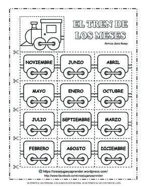 Pin En Tren De Los Meses