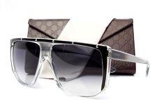 6fa31f54337 New Gucci GG 3705 S GG3705 S Sunglasses Frames Black Clear 9UFLF Authentic  62mm
