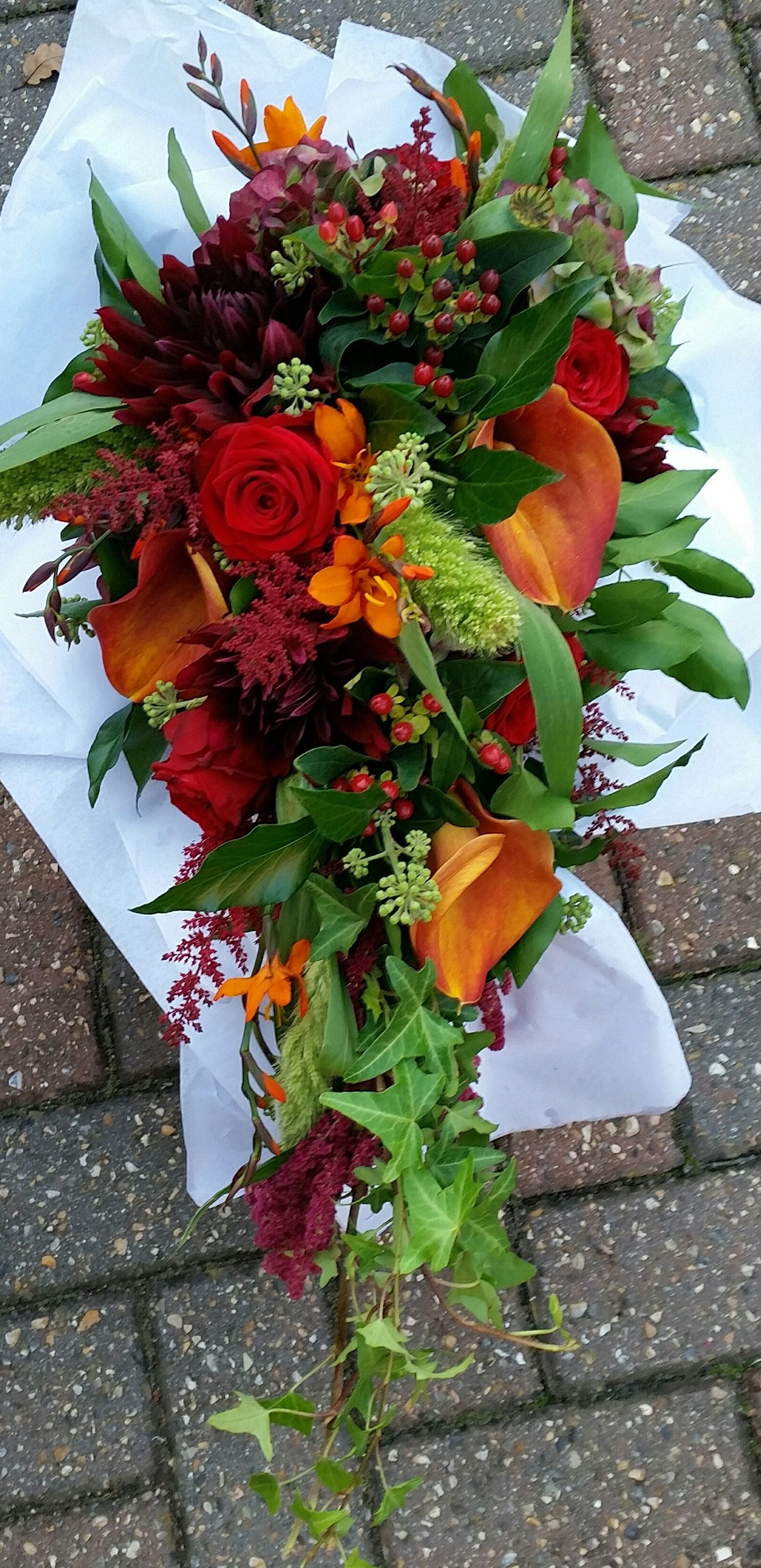 Autumn Teardrop Bouquet Wizanki Pinterest Flowers And Flower