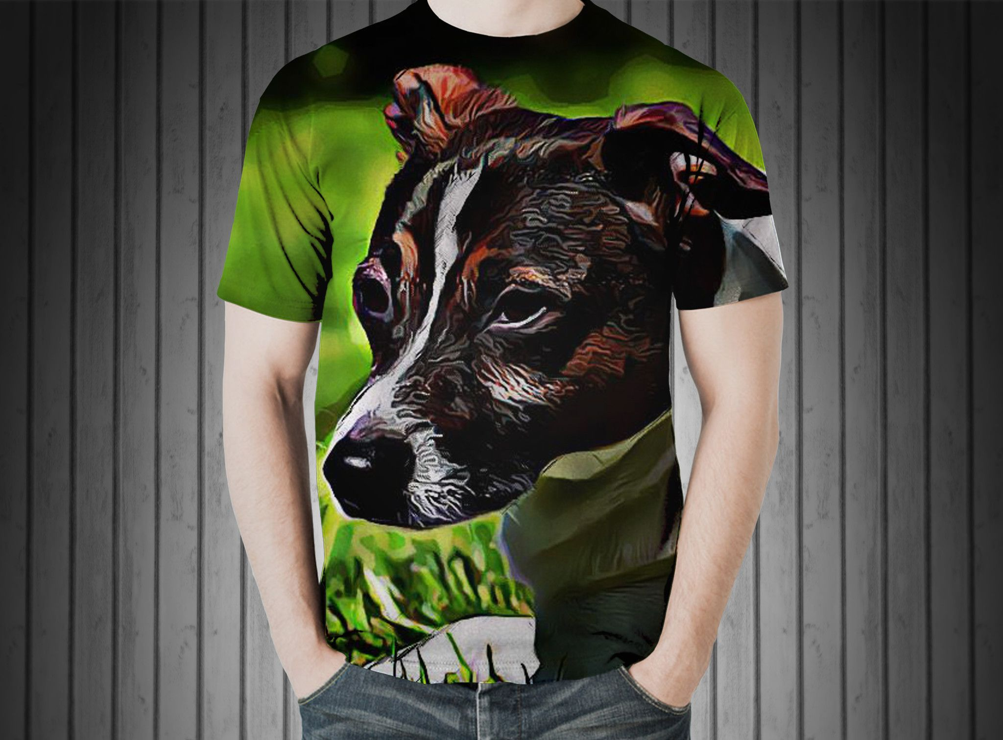 T-Shirt - Dog concerns hybrid relaxed pet