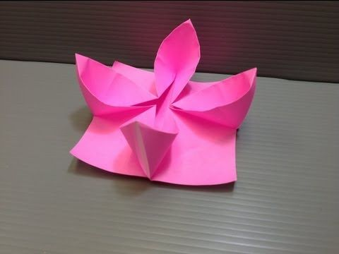 Daily origami 064 waterlily youtube origami pinterest daily origami 064 waterlily youtube mightylinksfo