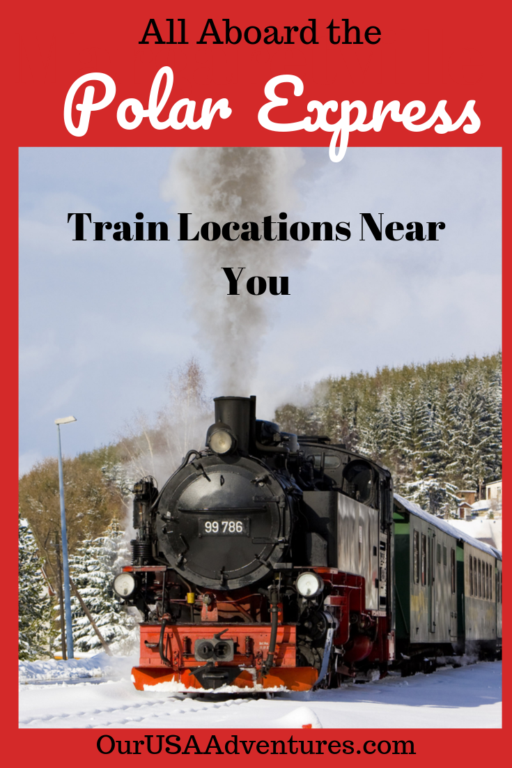 Take A Magical Train Ride On The Polar Express Get The Golden Ticket And Silver Bell While Riding To The North Polar Express Train Train Travel Usa Travel Usa