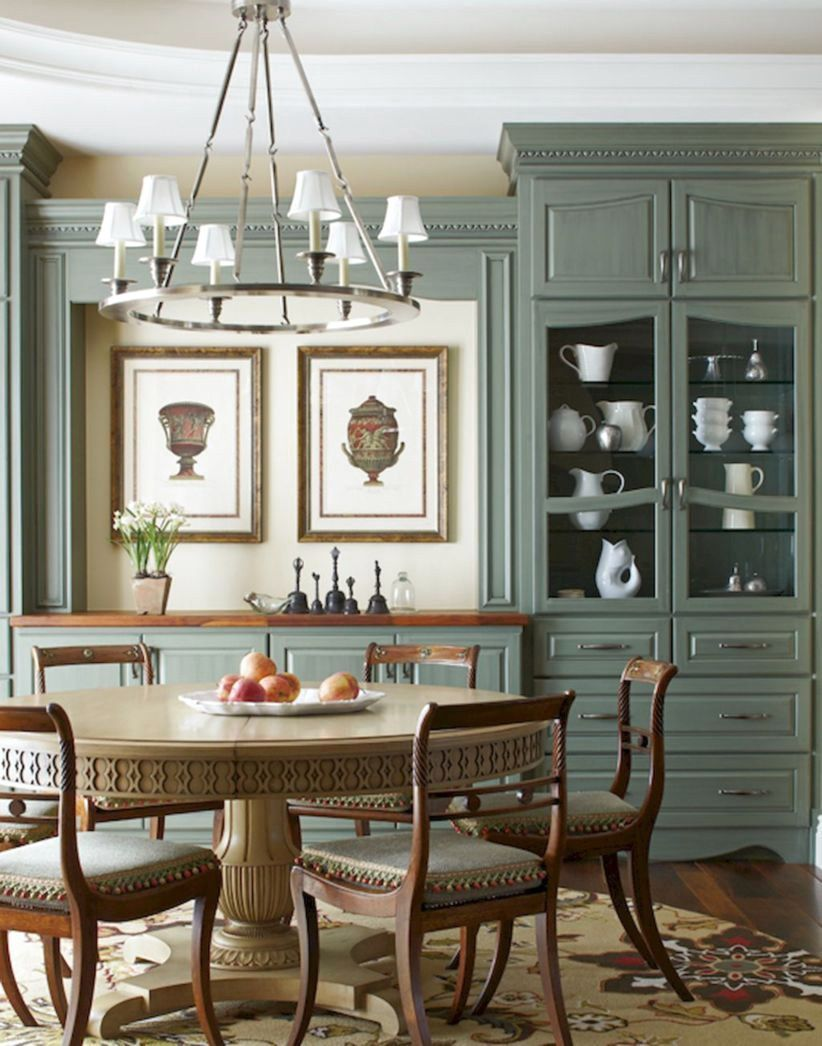 45+ AMAZING ELEGAN FRENCH COUNTRY DINING ROOM DESIGN IDEAS