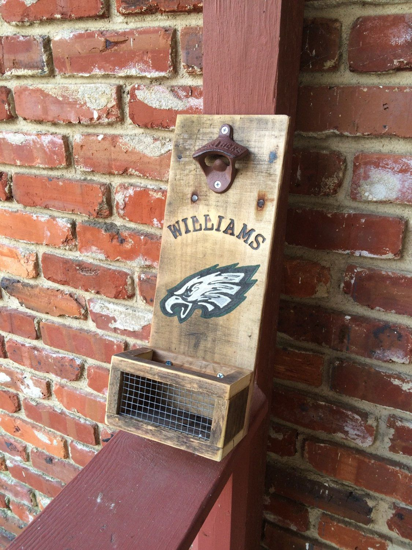 Philadelphia Eagles Inspired Personalized Bar Sign Beer