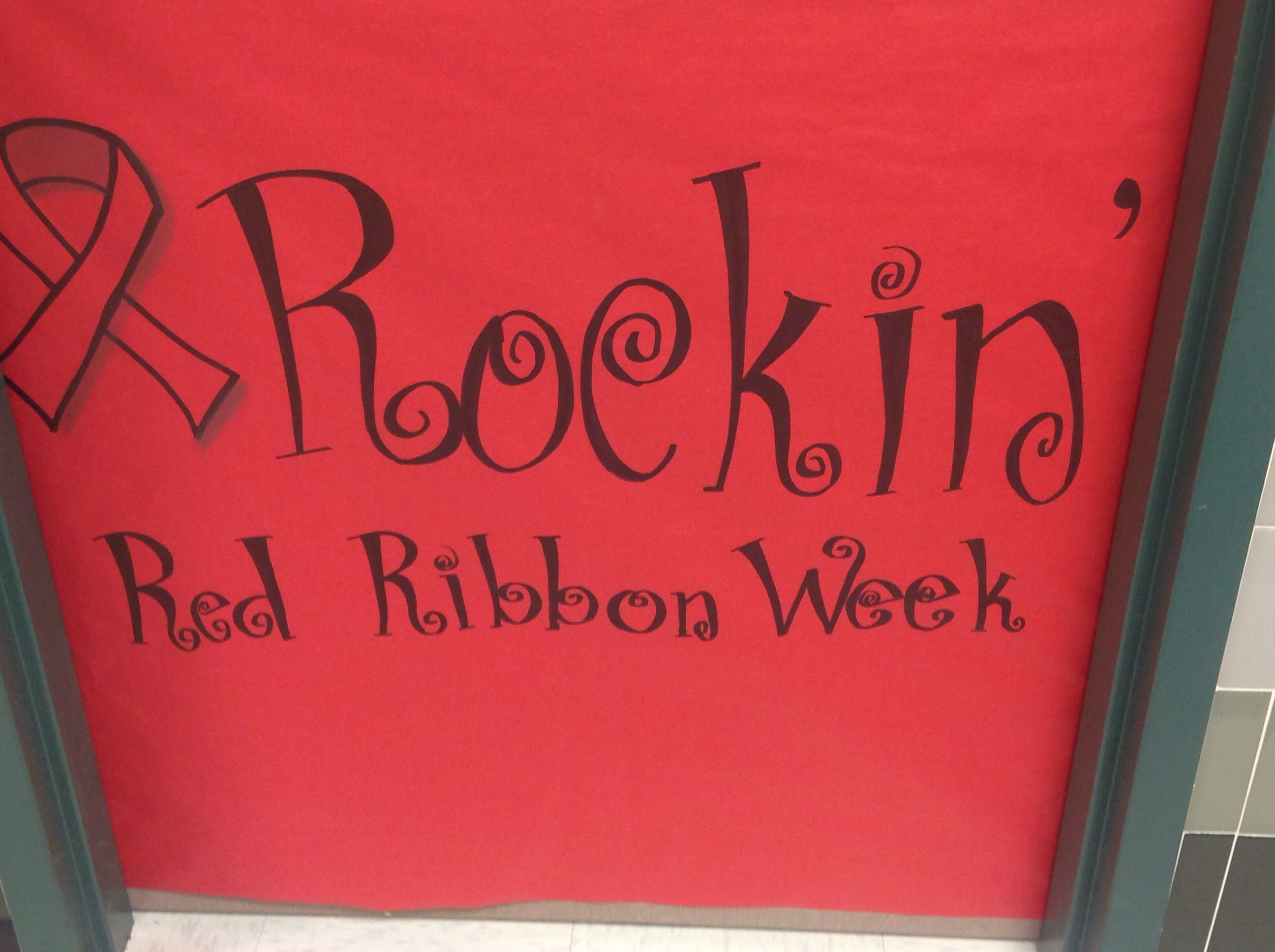 Rockin Red Ribbon Week
