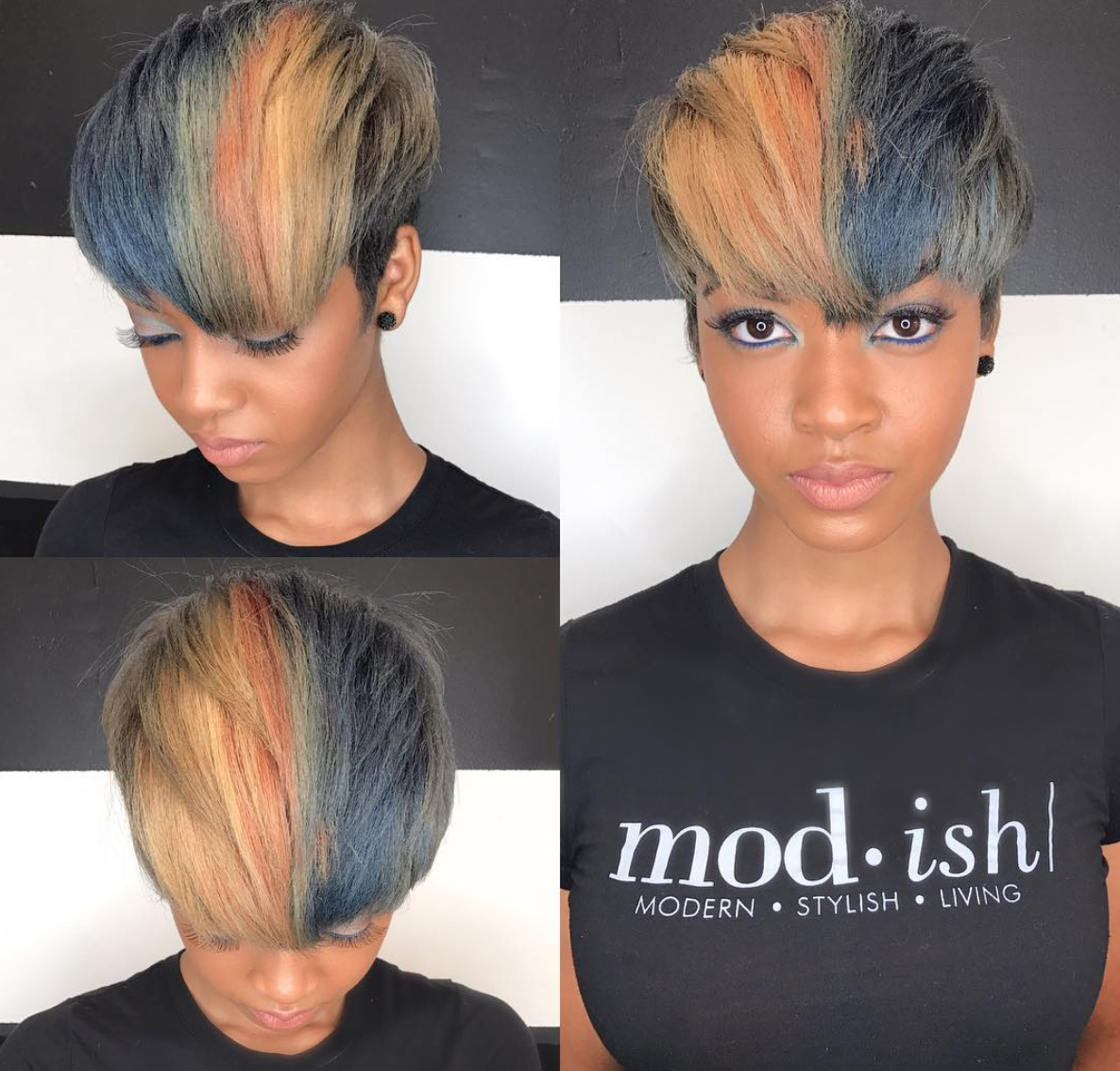 pin by chubby hoochie on crowns n color | hair styles, hair