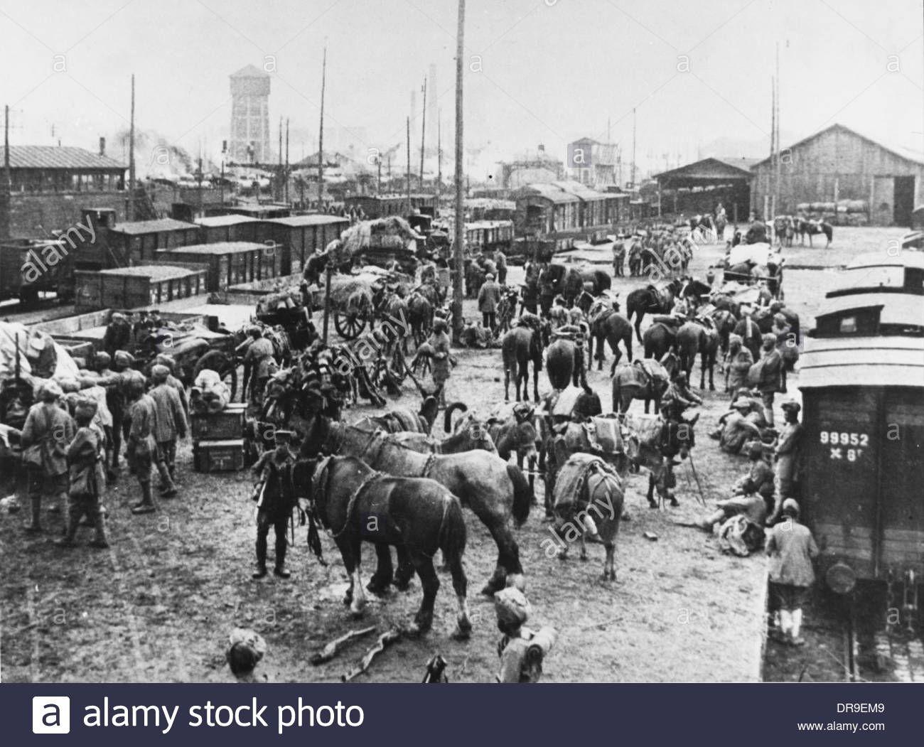 Indian Cavalry Regiment 1914 Stock Photo | 'British' Indian