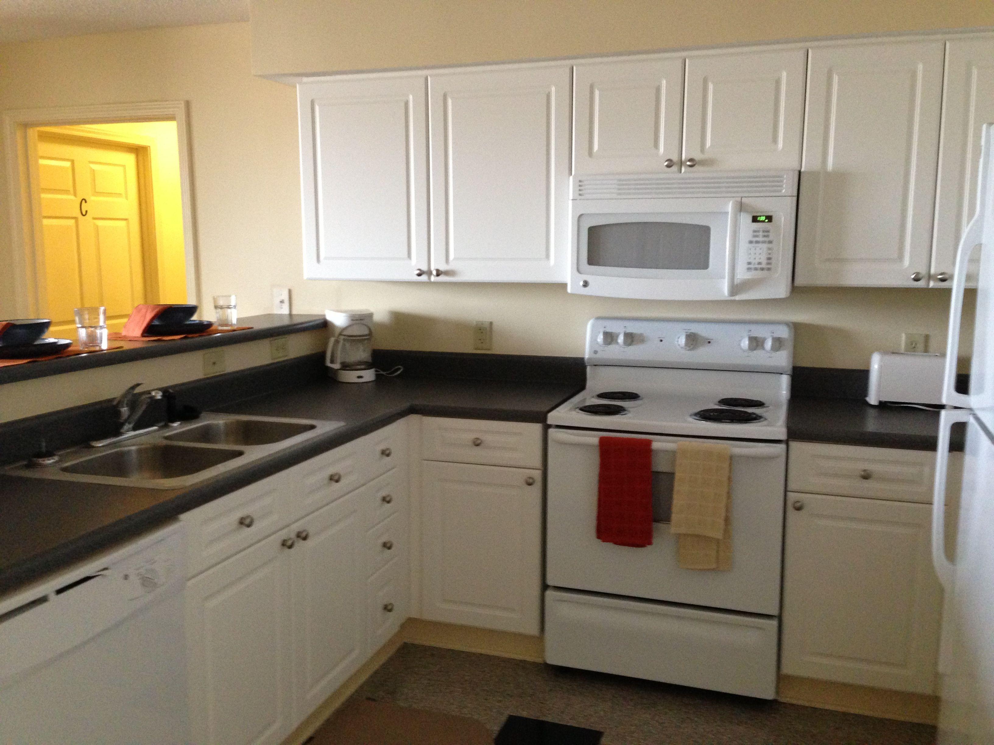 Volunteer Hall Apartment Kitchen
