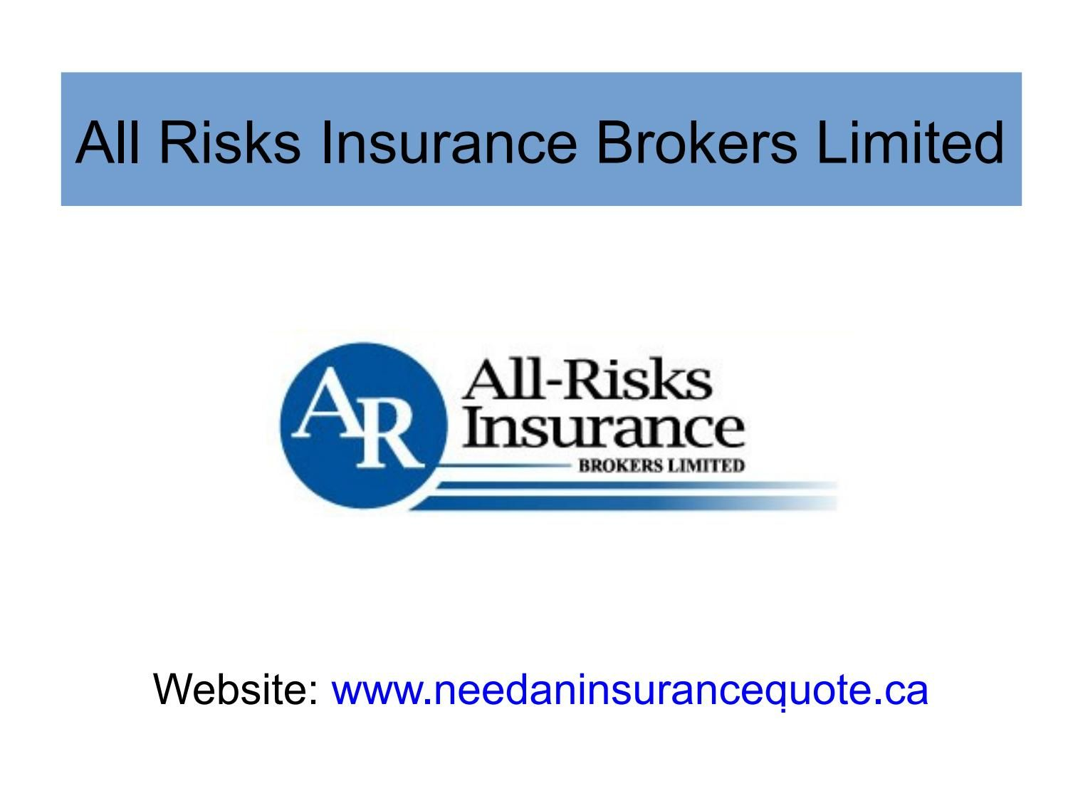 Get High Risk Auto Insurance Policy From All Risks Insurance