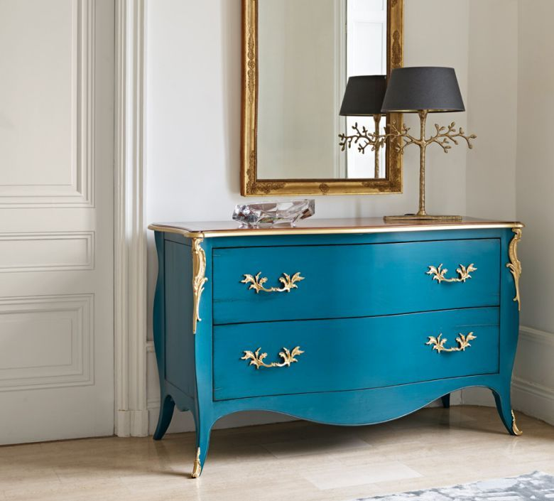 Commode Grand Siecle Signee Grange Coup De Soleil Mobilier Commode Bleu Louisxv Provence Decoration Luxe Furni Mobilier De Salon Meuble Grange Mobilier