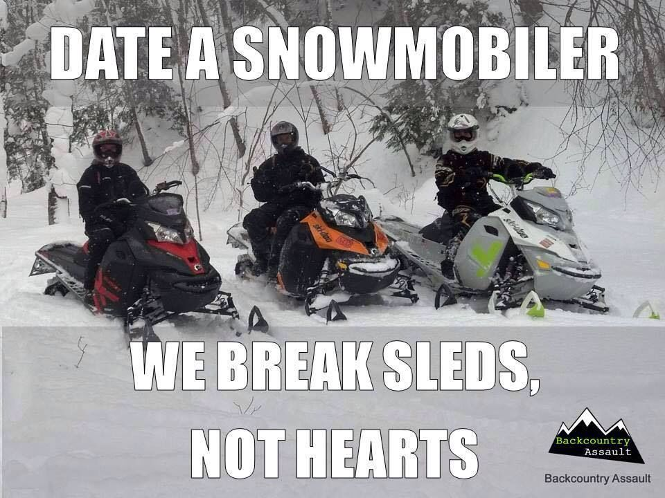 Snowmobile Dating Site.
