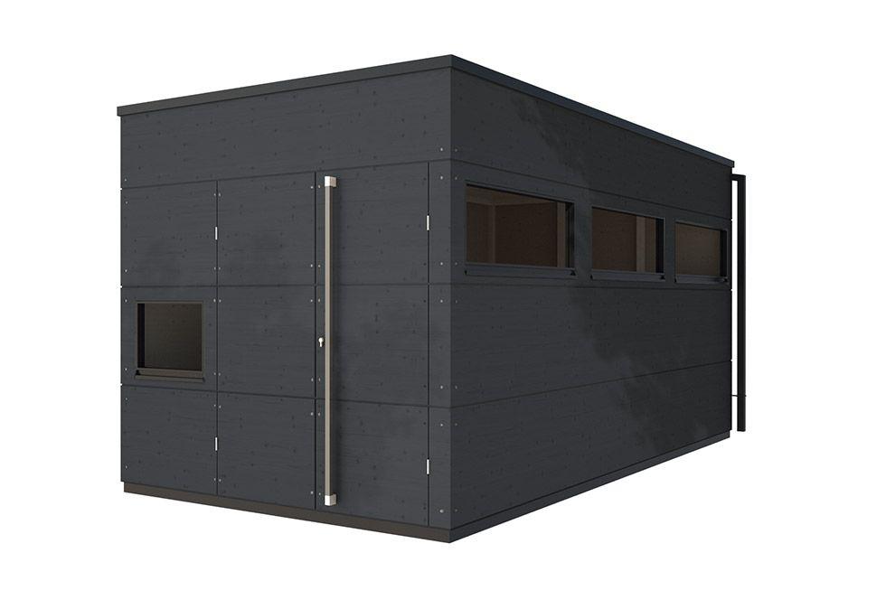 gartenhaus flachdach xl anthrazit garten pinterest flachdach anthrazit und gartenh user. Black Bedroom Furniture Sets. Home Design Ideas