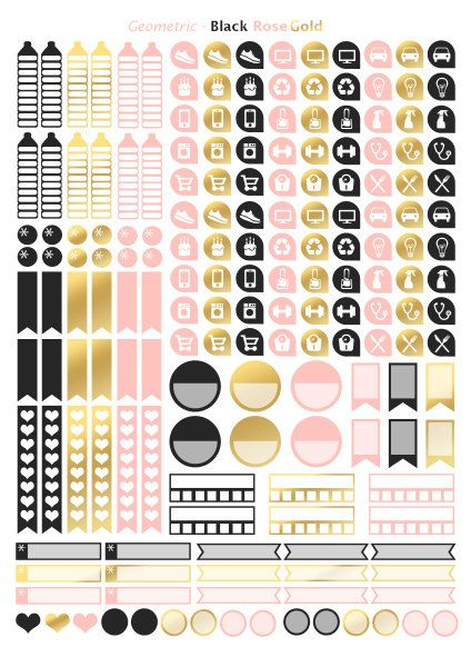 pingl par sur pinterest planner stickers journal stickers et. Black Bedroom Furniture Sets. Home Design Ideas