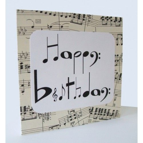 Happy Birthday Music Note Cake For Husband Images With Wishes
