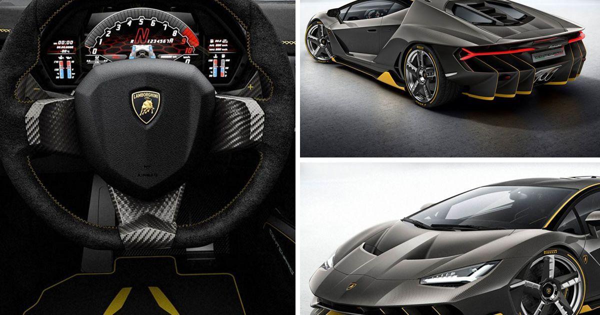 Traffic Stopping 1 7m Lamborghini Unveiled At Geneva Motor Show