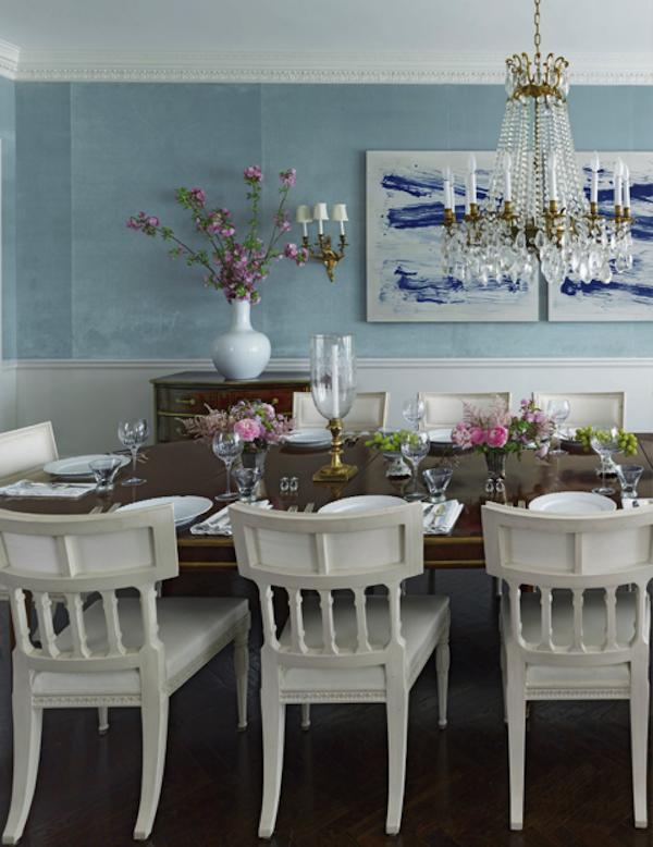 Nice Veranda Blue Dining Room March 2014