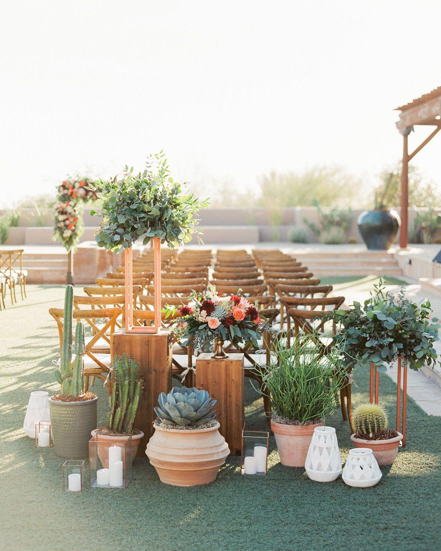 Stylish Wedding Ceremony Decor