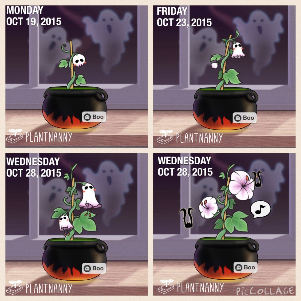 plant nanny morning ghost - Google Search | Cartoons | Ghost plant