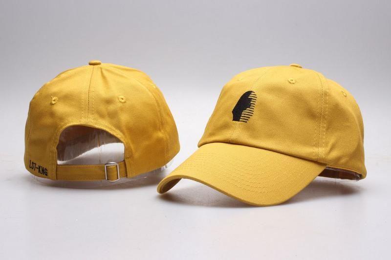 f7be314e Mens / Womens Unisex Last Kings The Foundation OG Logo Strap Back Baseball  Adjustable Dad Hat - Mustard / Black