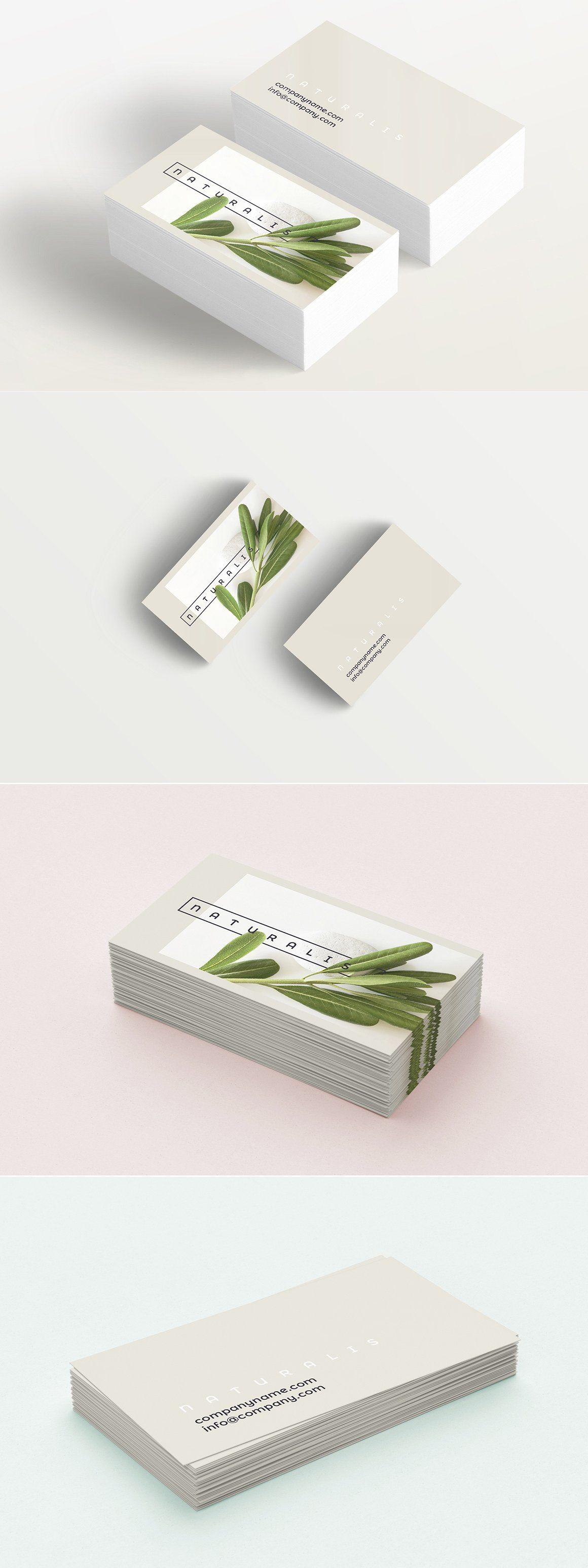 Natural greens business card elegant business card template that natural greens business card elegant business card template that will be perfect for anyone working free printable reheart Images