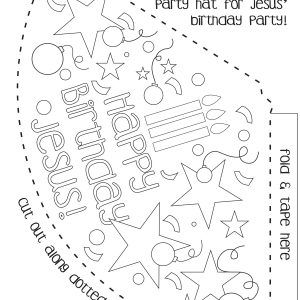 Party Hat Template Valid How to Make A Birthday Hat