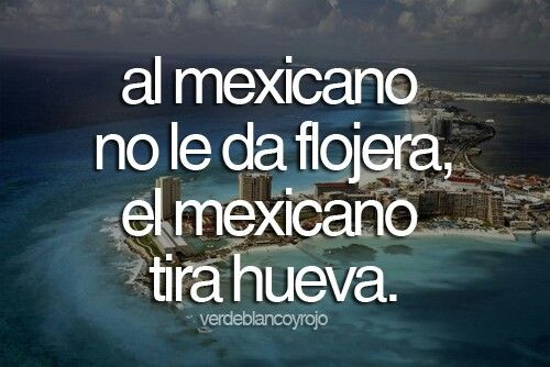 Al mexicano no le da flojera, el mexicano tira hueva #Mexico