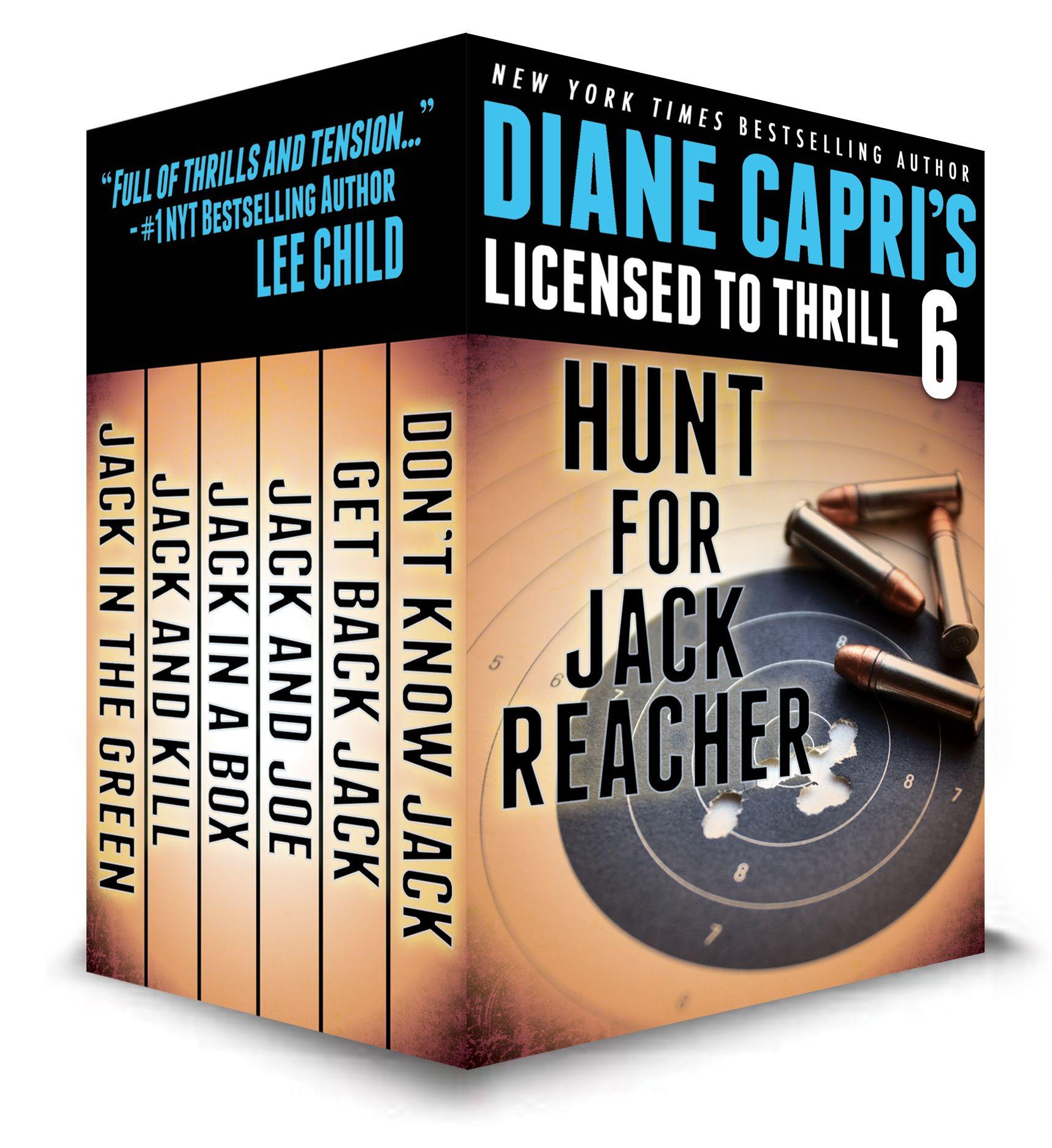 Theplete Collection (so Far) All 6 Hunt For Jack Reacher Books Http: