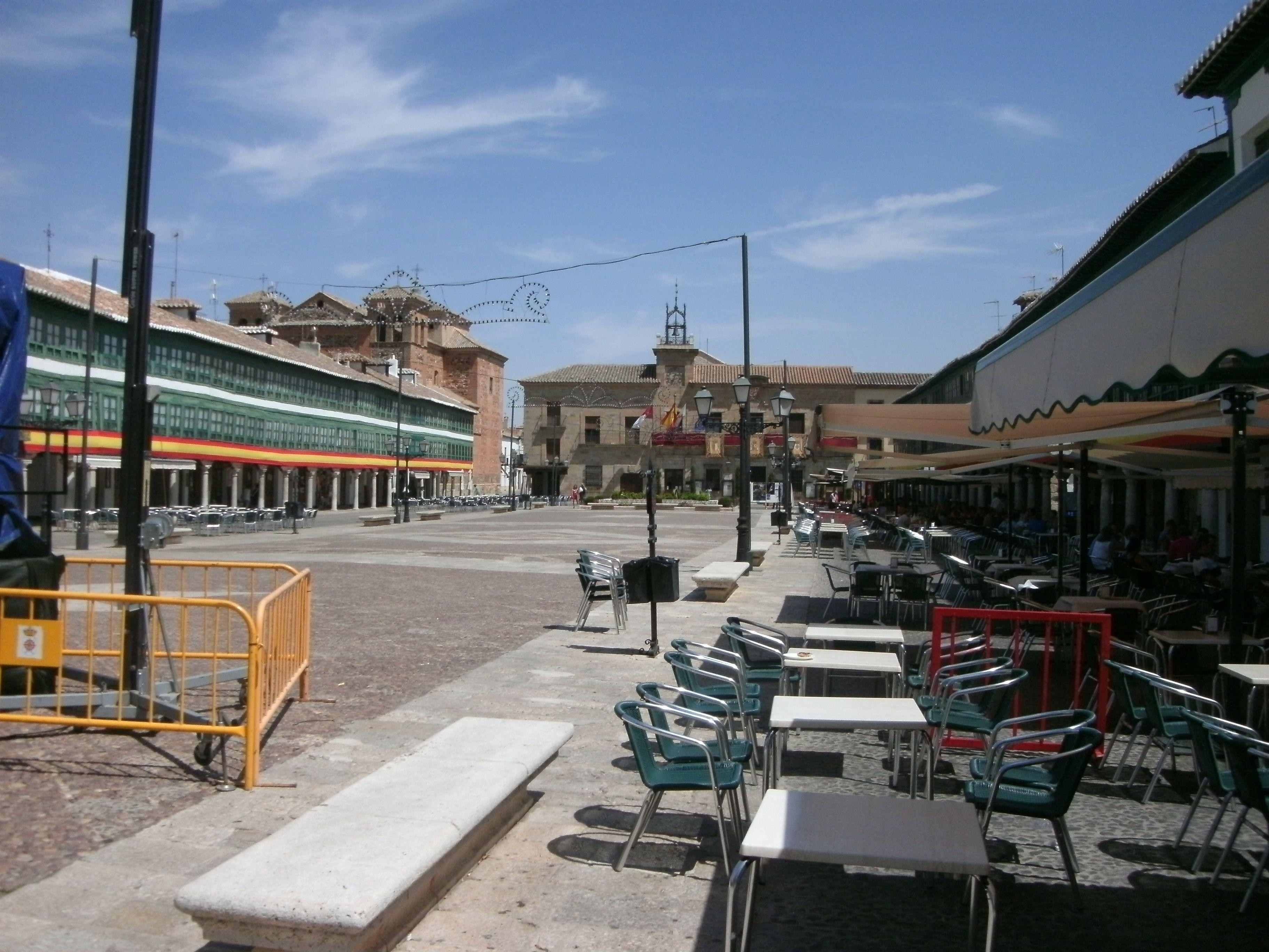 La Plaza Mayor de Almagro (Ciudad Real)