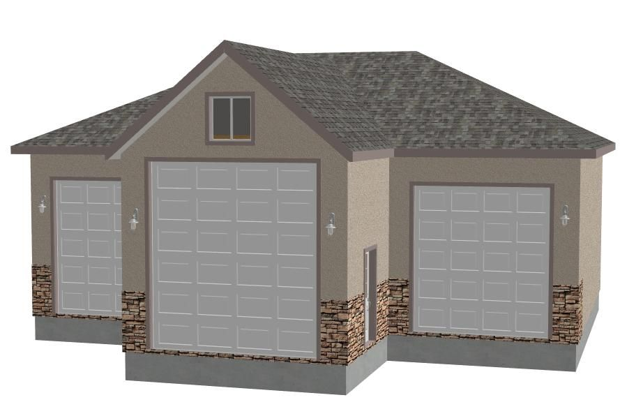 g409duanediderickson80025830x44x14detachedgarage – Detached Rv Garage Plans