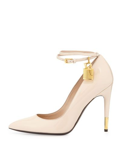 d7c657734f1 S0A6A TOM FORD Patent Ankle-Lock Pump