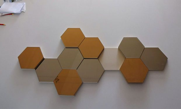 Adding Depth And Swagger To Ikea S Otherwise Flat Hexagonal