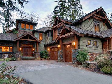 Northwestern Home Plan, 035H0144 Craftsman house plans