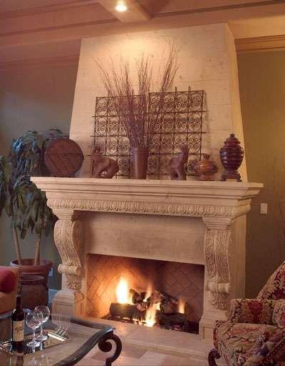 Fireplace - Albuquerque NM | HOME INTERIOR STYLE | Pinterest ...