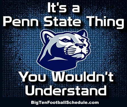 Pin By Big Ten Football On Penn State Penn State Football Penn State Penn State Football Schedule